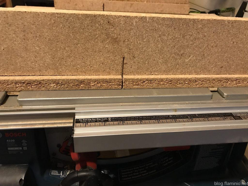 Cross Cut Slide Rails