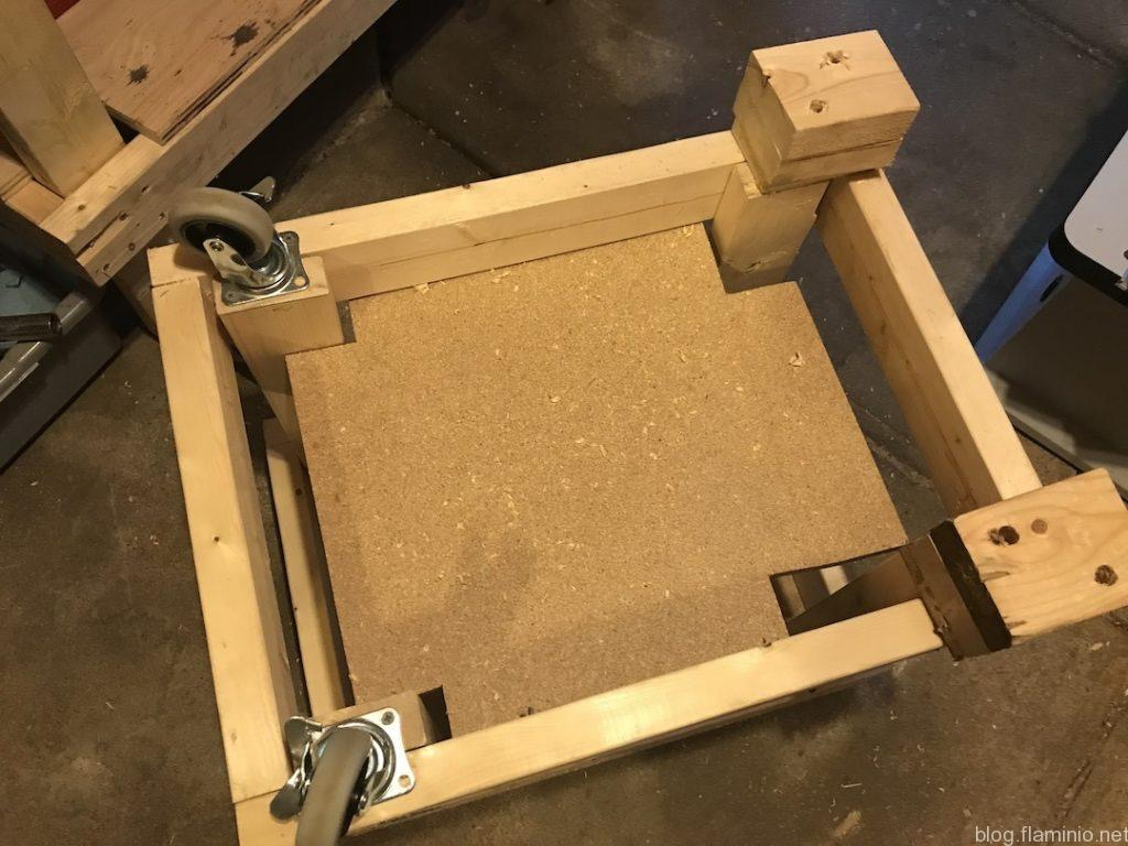 Router Table Cart New Legs View 1