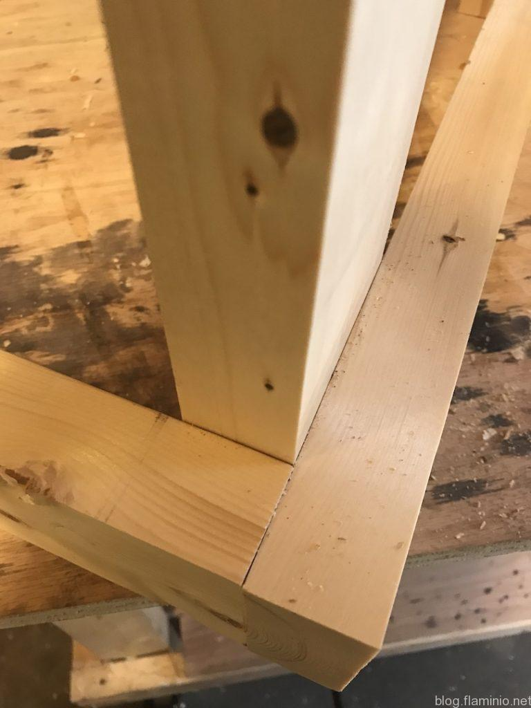 Planer Cart Build Edges