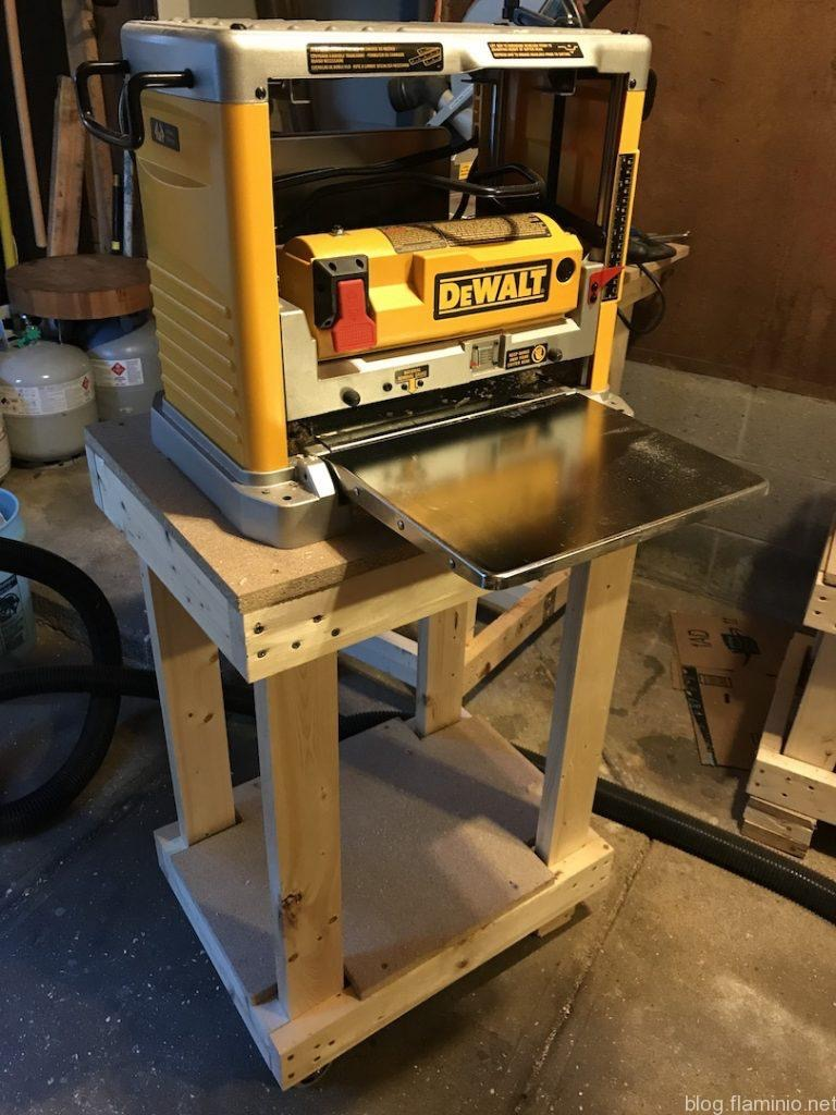 Front of Planer Cart