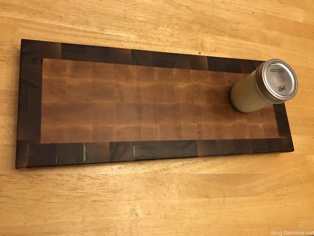 End Grain Walnut Framed Cutting Board