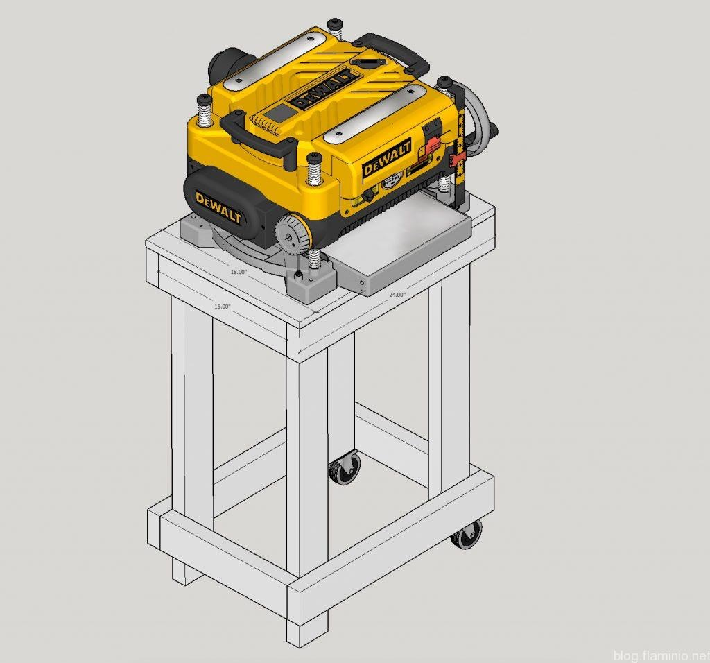 Planer Cart Drawing