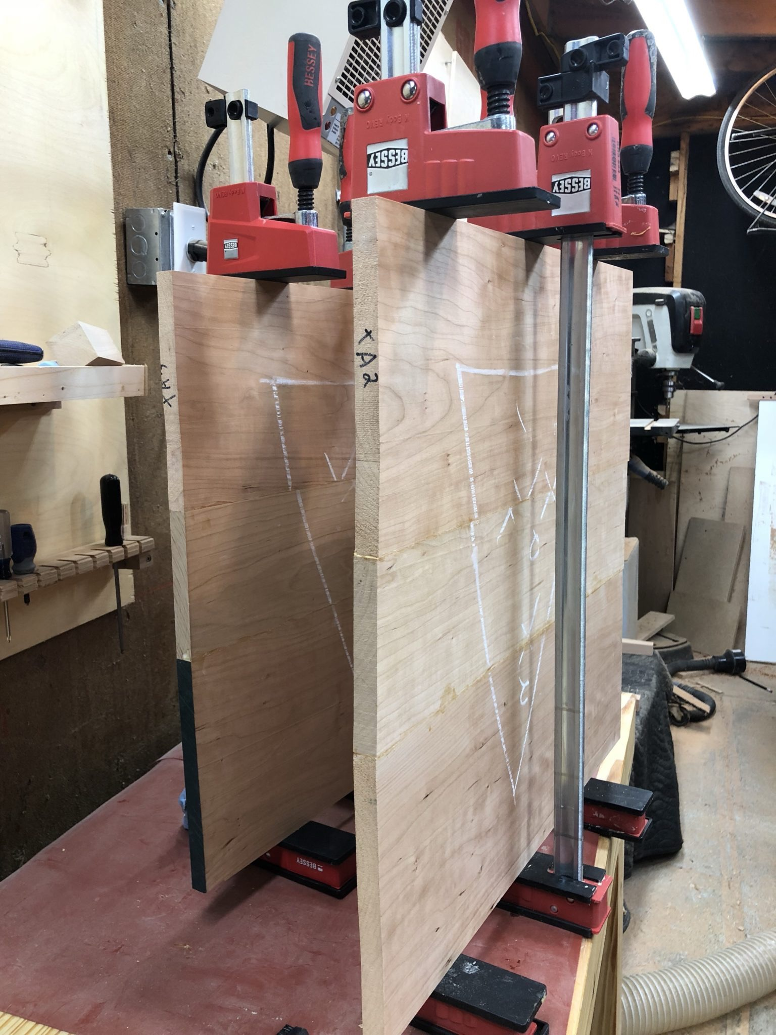 Peachy Shop Update End Table Tops Glue Up Finish Mike Project Blog Download Free Architecture Designs Scobabritishbridgeorg
